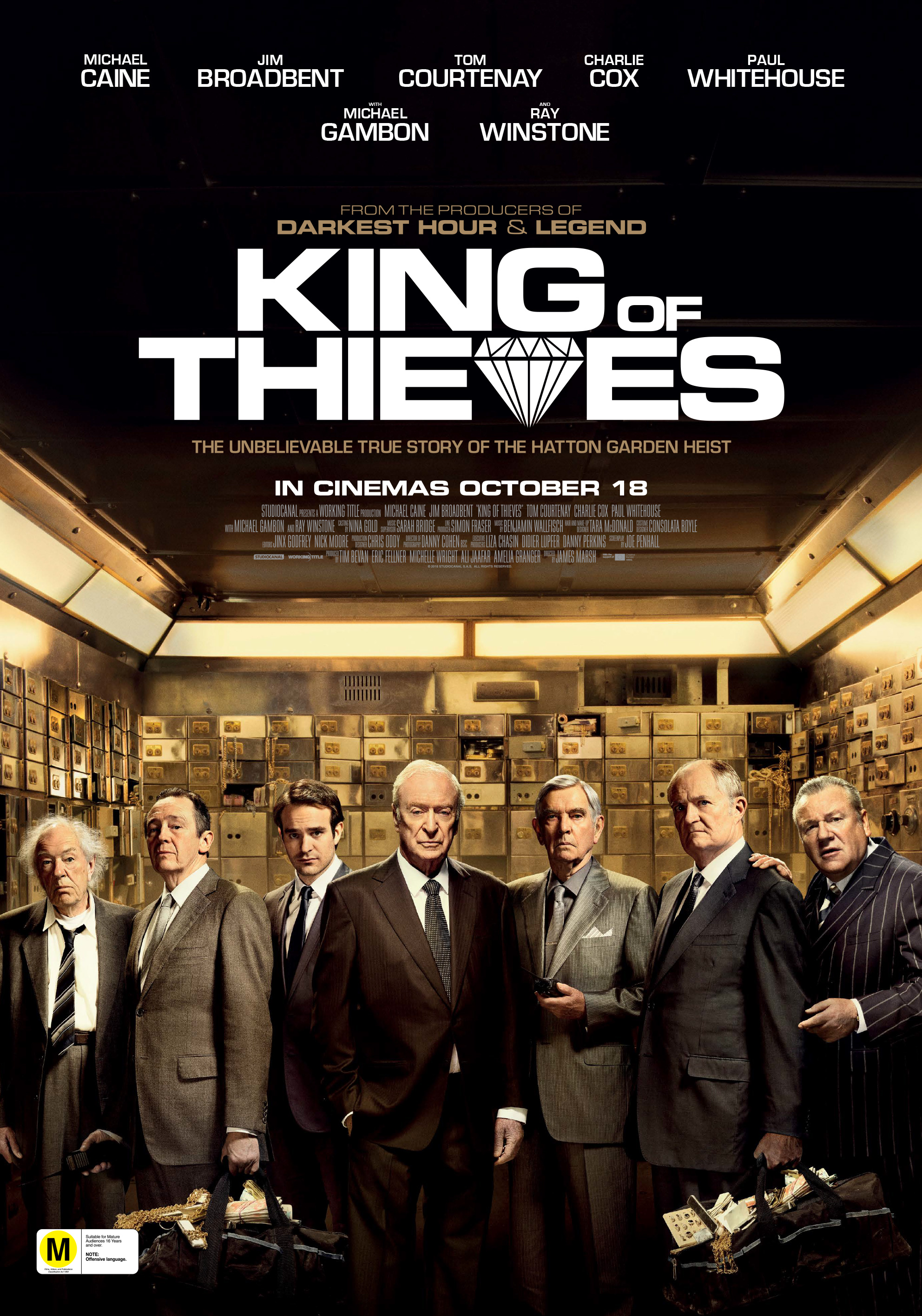 Poster of The King of Thieves