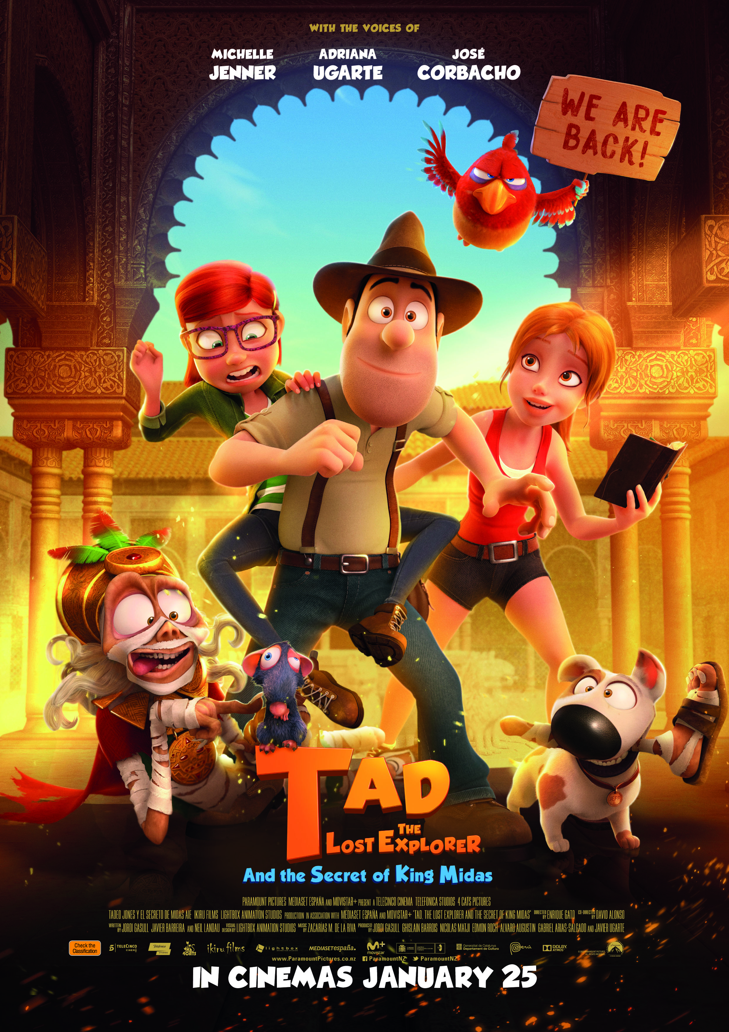 Poster of Tad The Lost Explorer & The Secret Of King Midas