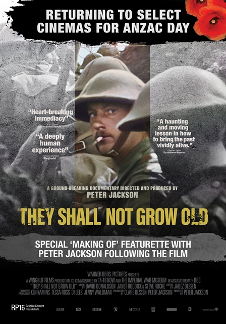 Poster of They Shall Not Grow Old
