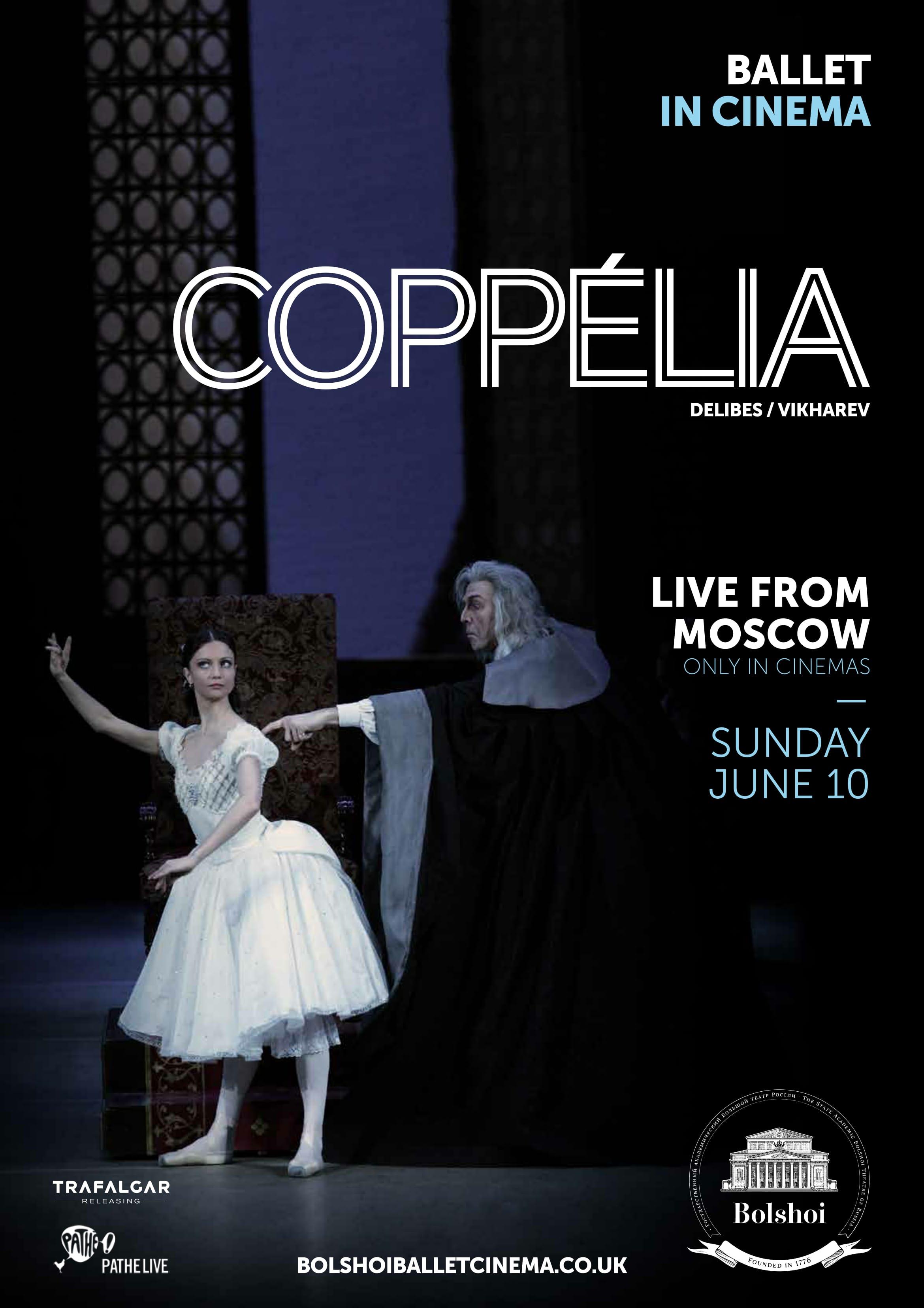 Bolshoi Ballet: Coppélia Poster
