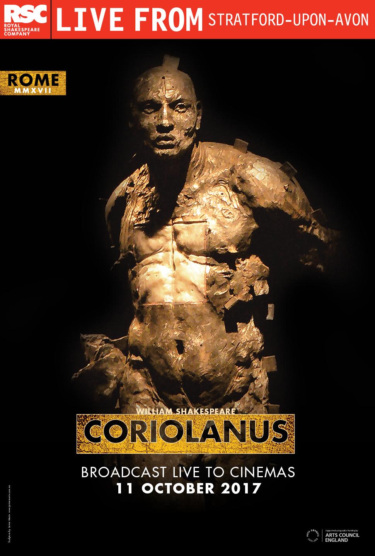 Royal Shakespeare Company: Coriolanus Poster