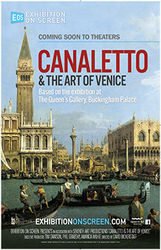 Exhibition On Screen: Canaletto and the Art of Ven Poster
