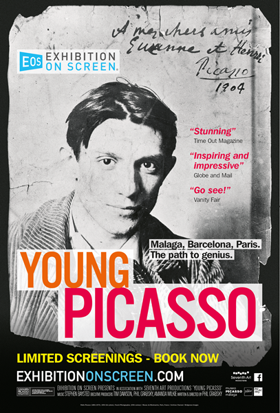 Exhibition on Screen: Young Picasso Poster