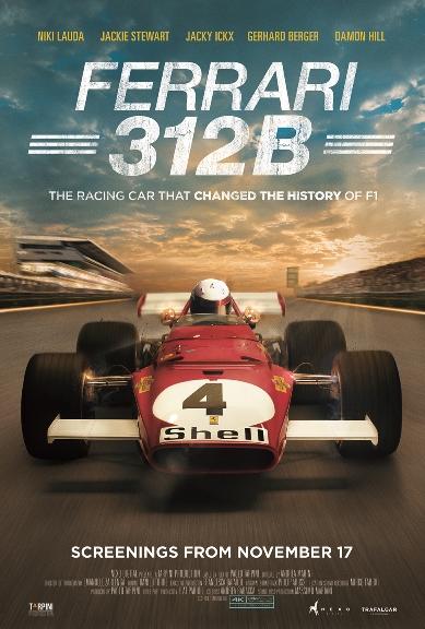 Ferrari 312B: Where the Revolution Begins Poster