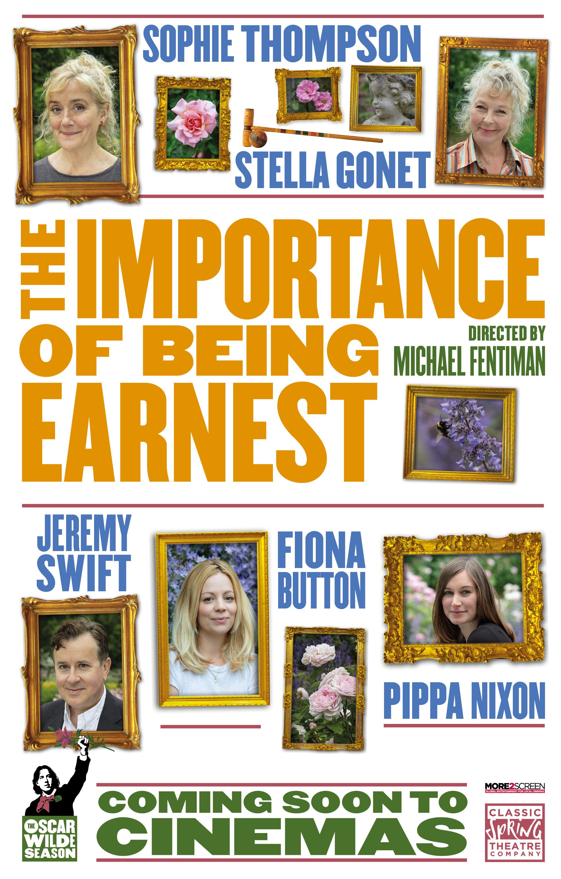 Oscar Wilde Season: The Importance of Being Earnes Poster