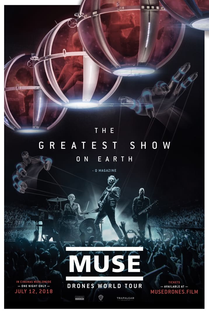 Muse - Drones World Tour Poster