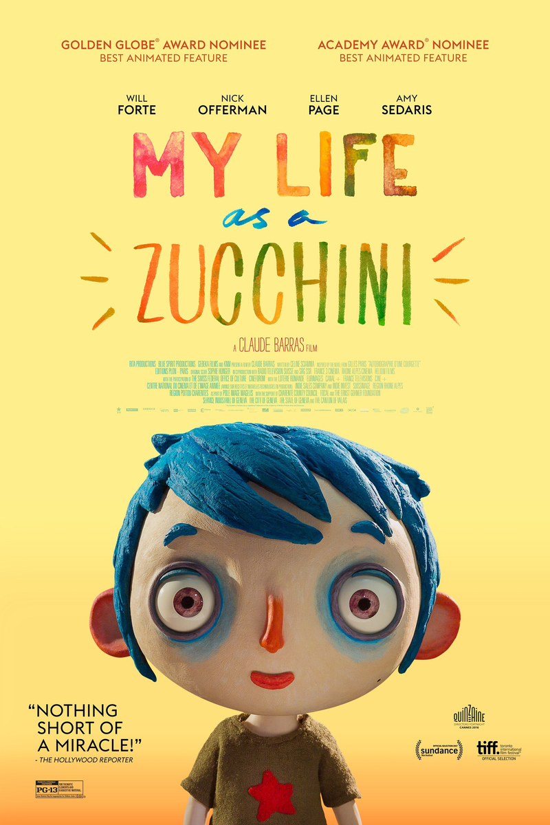 My Life as a Zucchini (Ma vie de courgette) Poster