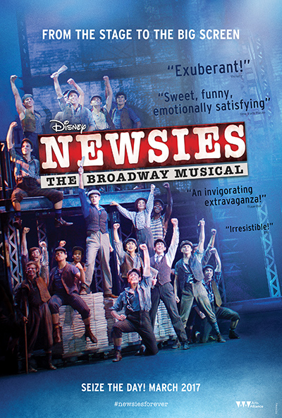 Disney's Newsies: The Broadway Musical!