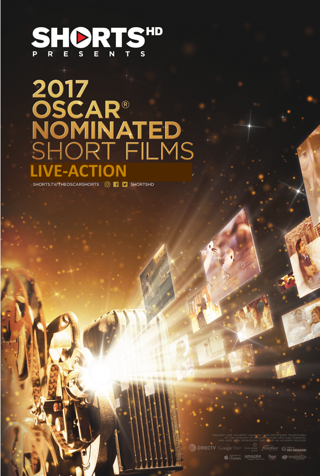 2017 Oscar Nominated Shorts - Live Action Poster