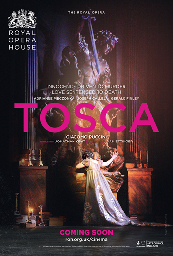 The Royal Opera House: Tosca Poster