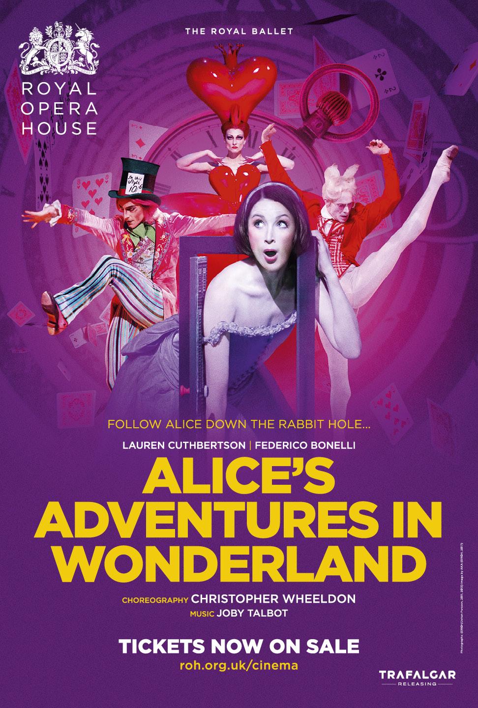 Royal Ballet: Alice's Adventures in Wonderland, Th Poster