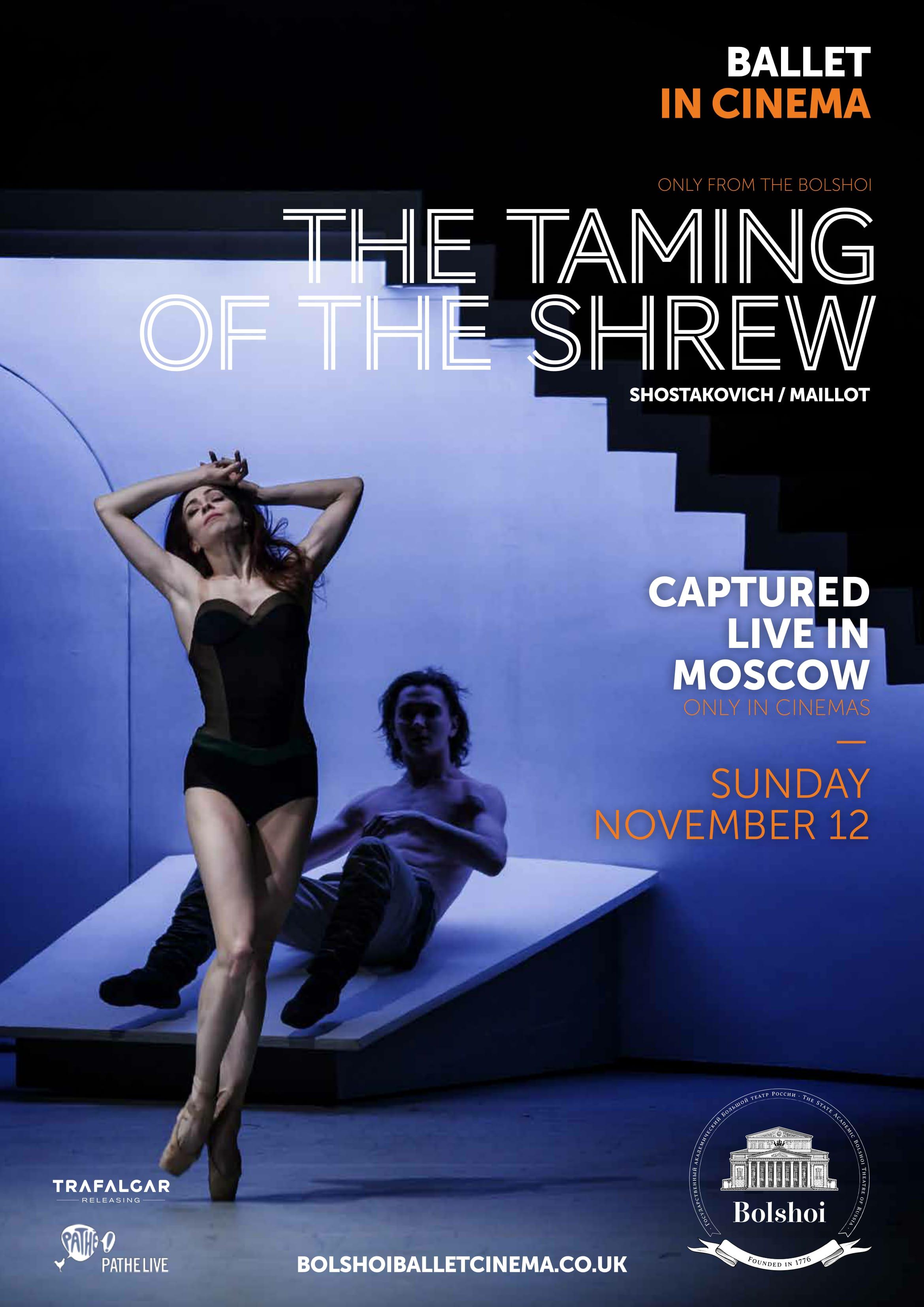 Bolshoi Ballet: The Taming of the Shrew