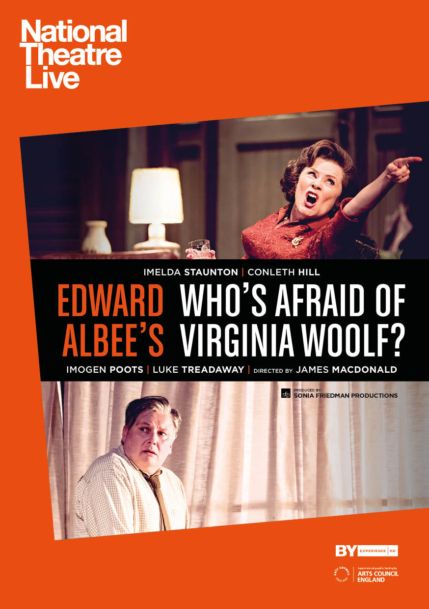 National Theatre Live: Who's Afraid of Virginia Wo Poster