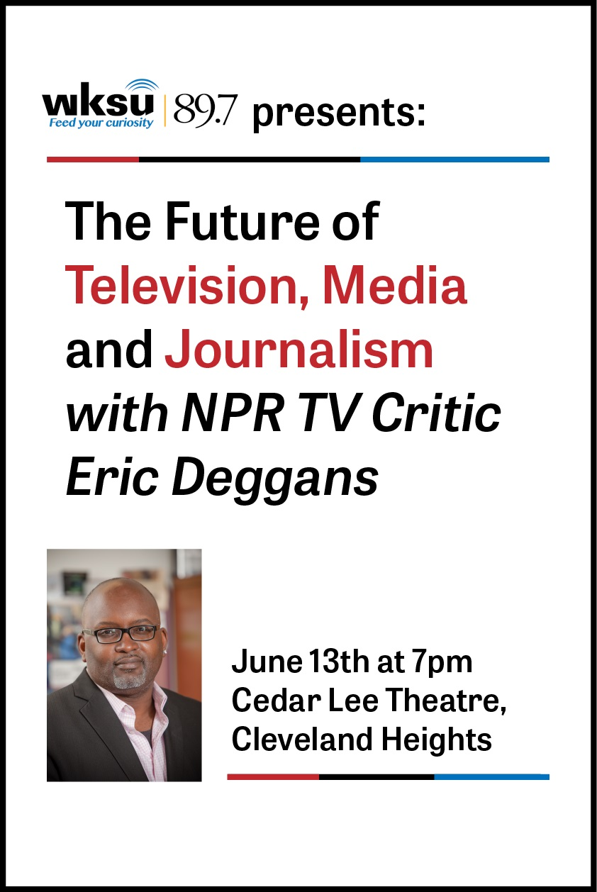 Poster for The Future of Television, Media and Journalism