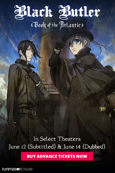 Poster for Black Butler: Book of the Atlantic