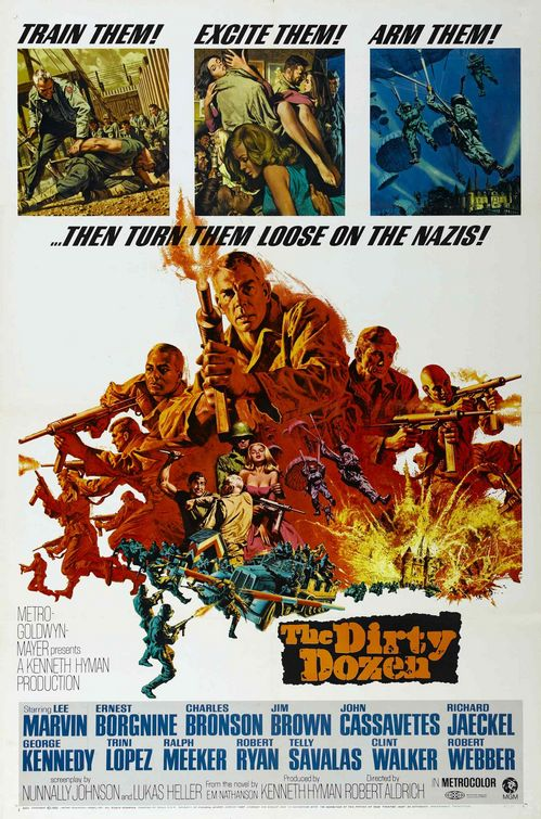 Poster for The Dirty Dozen (1967)