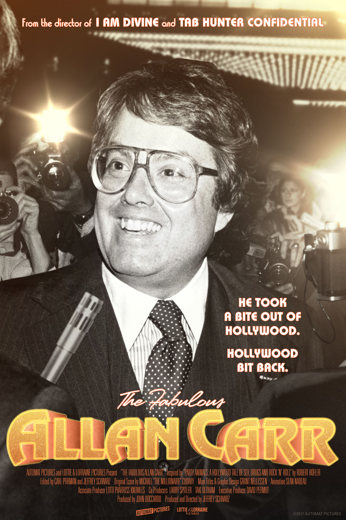 Poster for The Fabulous Allan Carr