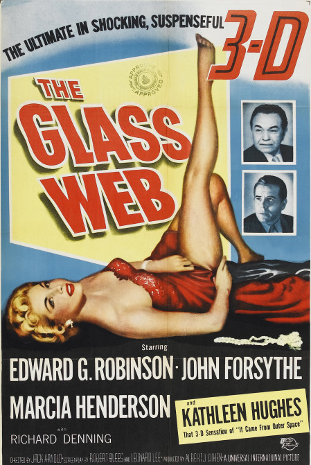 Poster for The Glass Web 3D