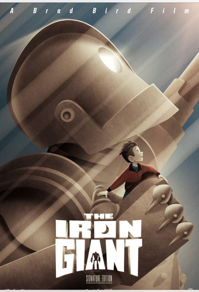 Poster for The Iron Giant: Signature Edition