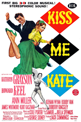 Poster for Kiss Me Kate 3D