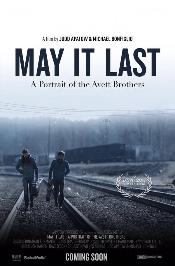 Poster for May it Last: A Portrait of the Avett Brothers
