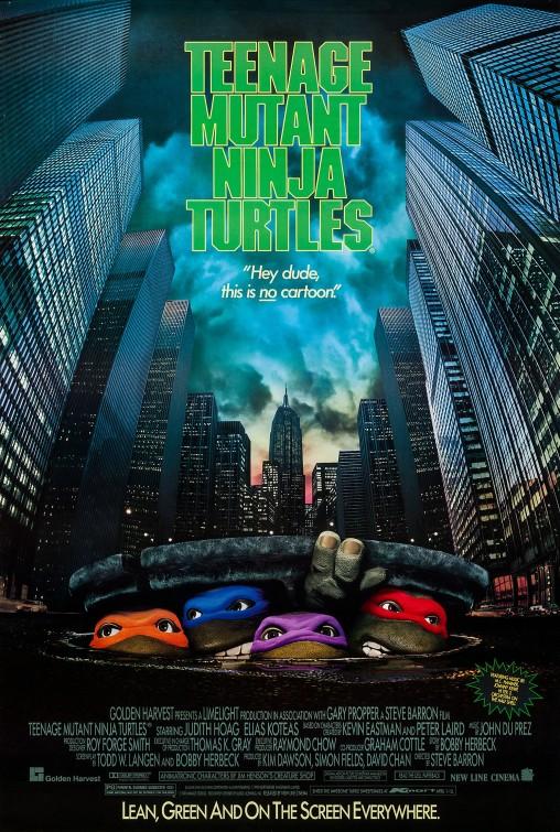 Poster for Teenage Mutant Ninja Turtles (1990)