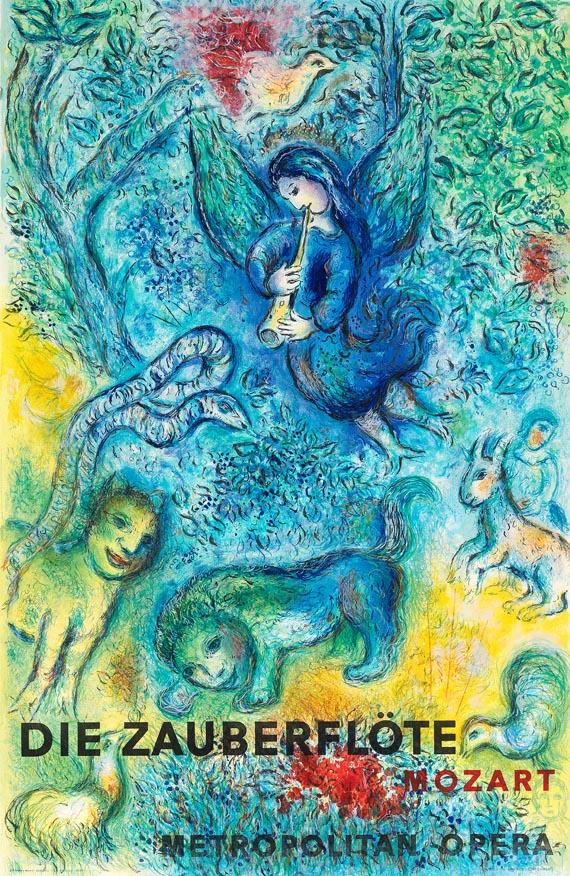 Poster of The Metropolitan Opera: Die Zauberflote