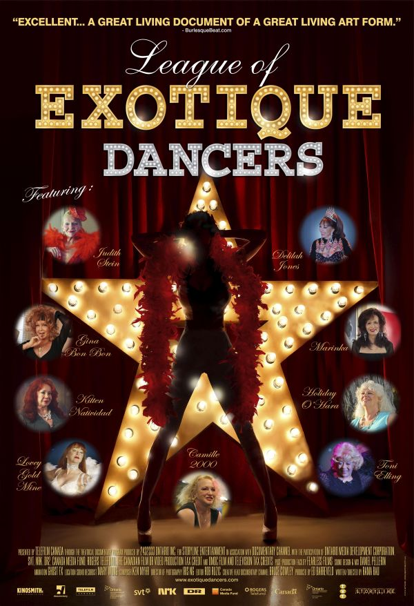 Poster of League of Exotique Dancers