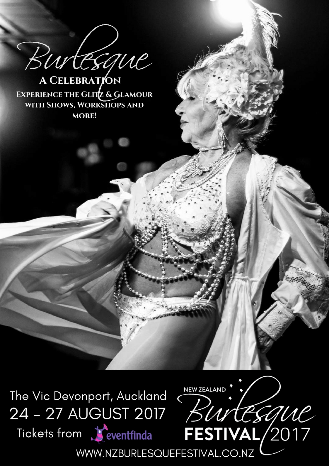 Poster of New Zealand Burlesque Festival: Spectacular Tease