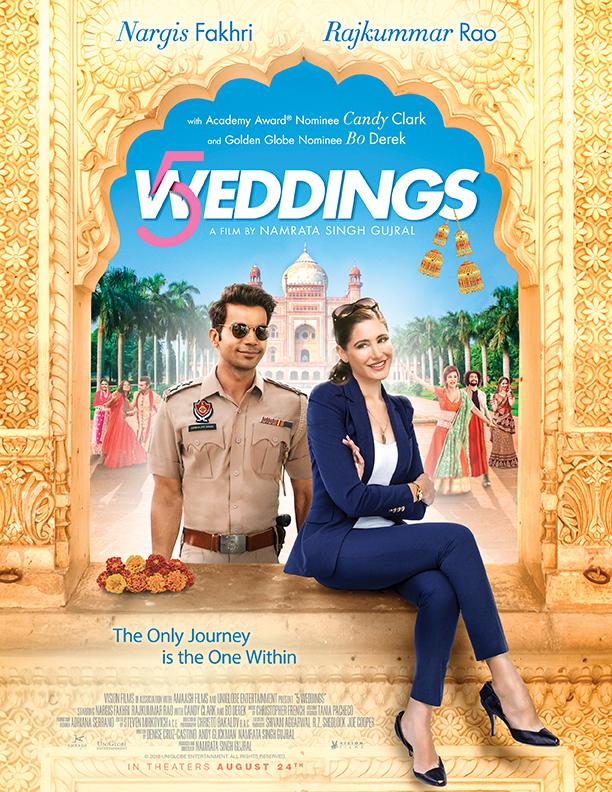 Poster of 5 Weddings