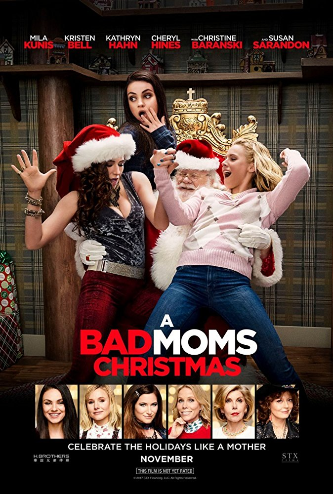 Poster of A Bad Moms Christmas