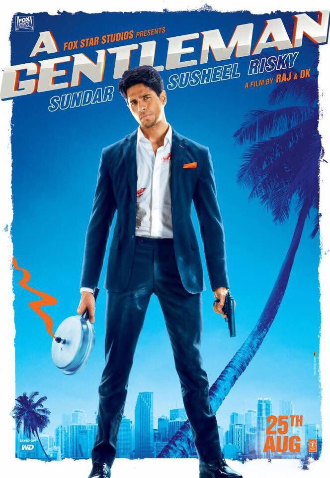 Poster of A Gentleman (Hindi)