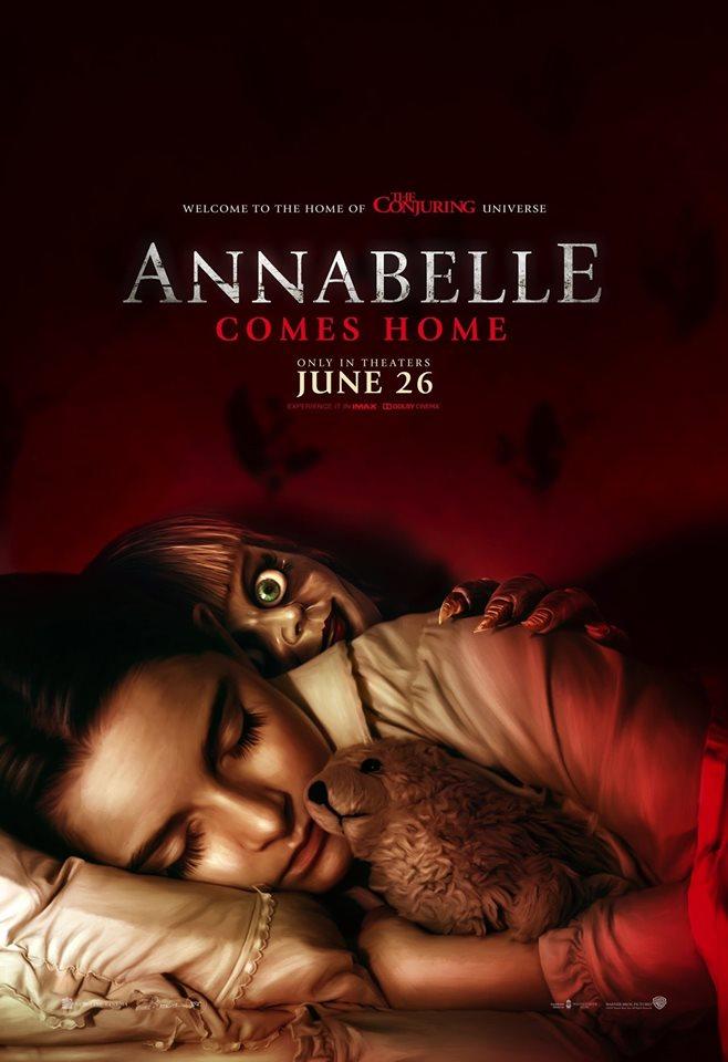 Hasil carian imej untuk annabelle comes home poster