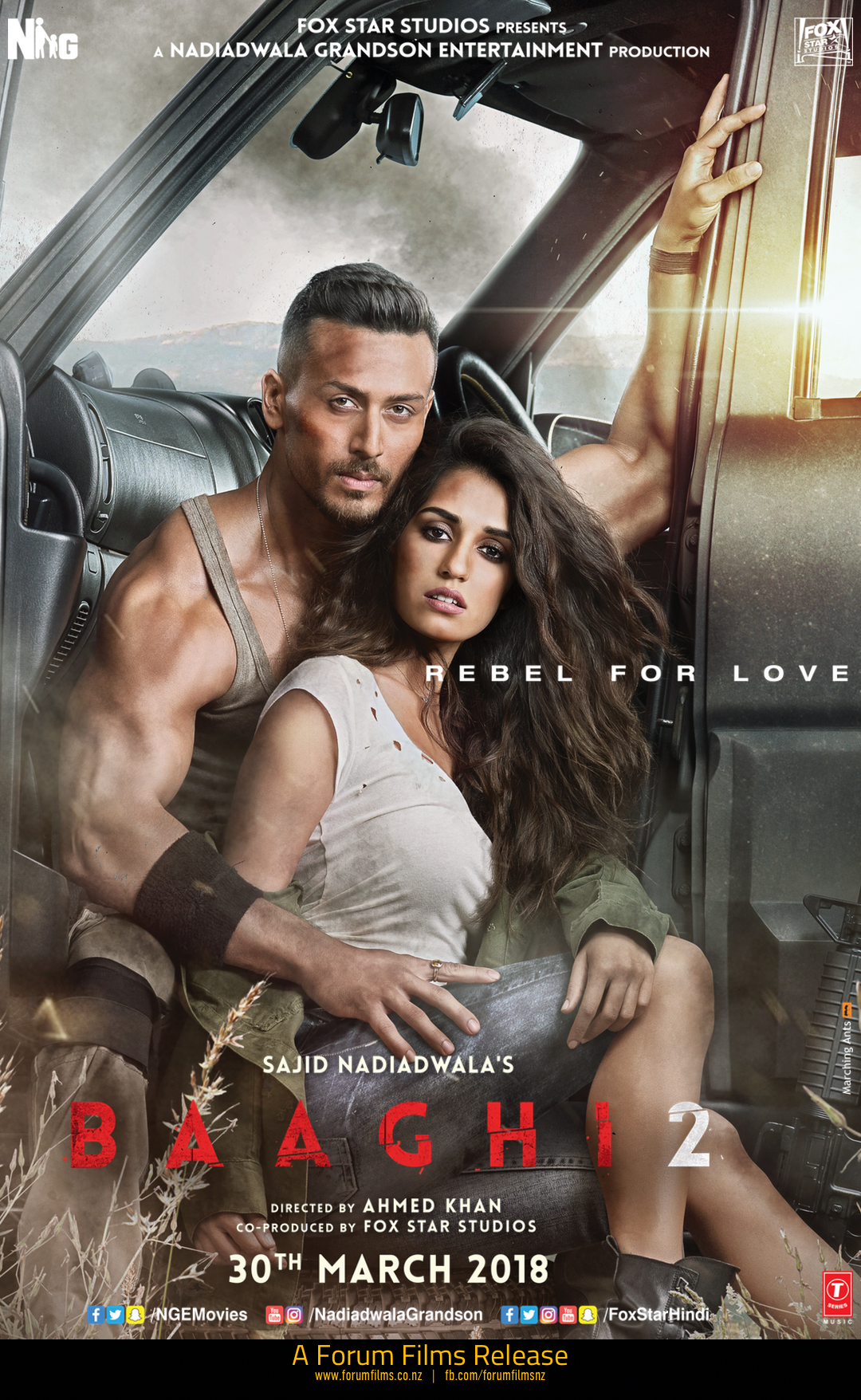 Poster of Baaghi 2