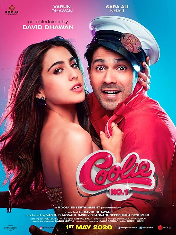 Poster of Coolie No. 1 (Hindi)
