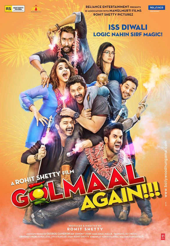 Poster of Golmaal Again