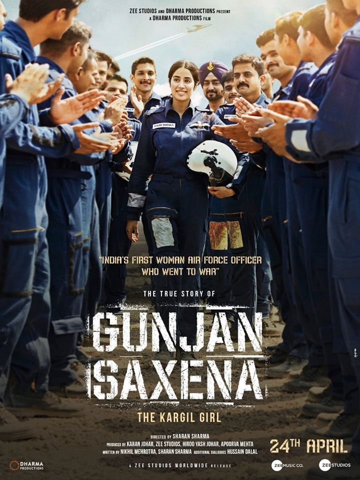 Poster of Gunjan Saxena: The Kargil Girl
