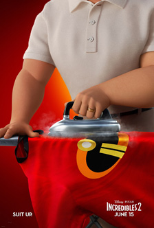 Poster of The Incredibles 2 3D