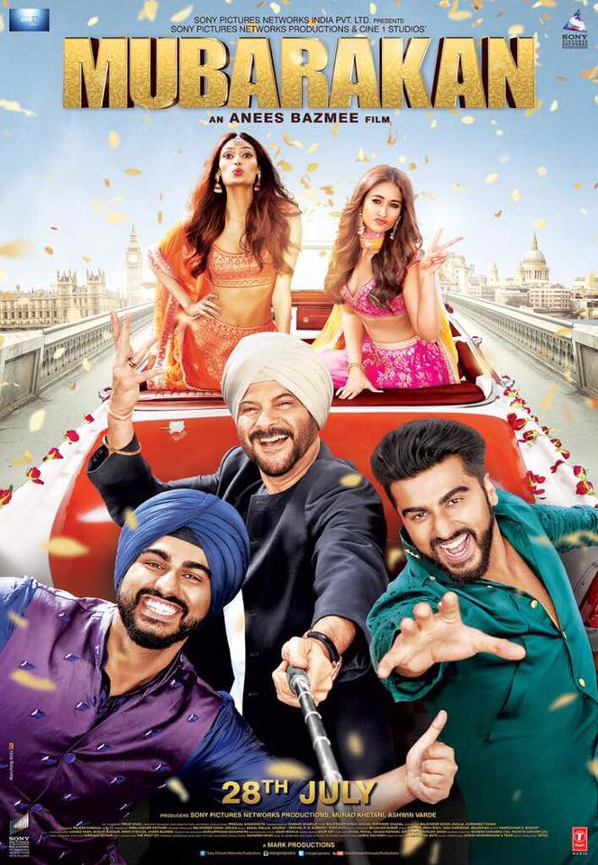 Poster of Mubarakan
