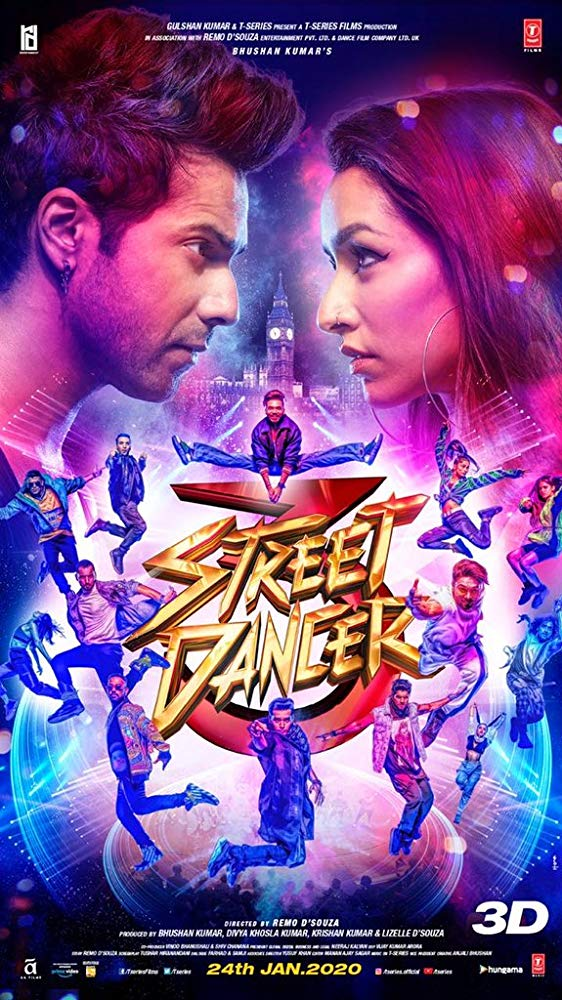 Poster of Street Dancer