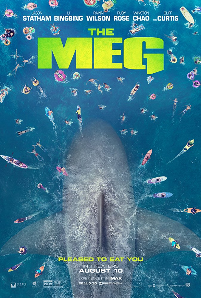 Poster of The Meg in 3D