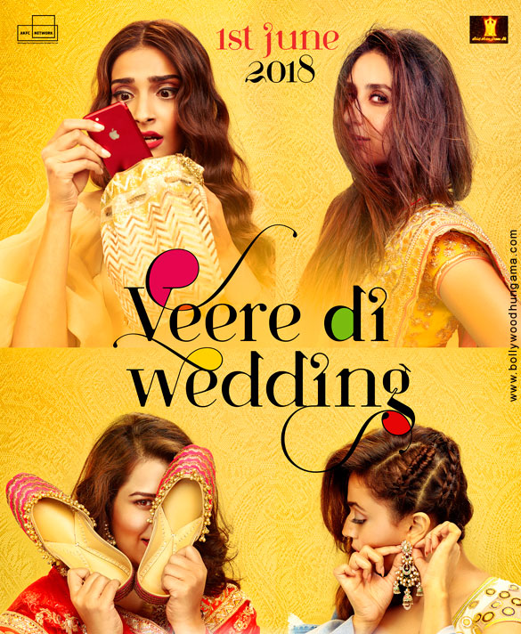Poster of Veere Di Wedding