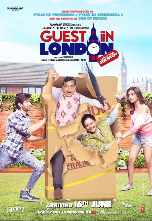 Poster of Guest iin London