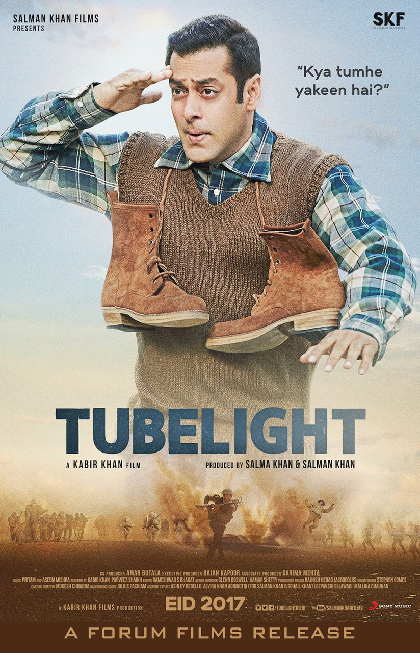 Poster of Tubelight (Hindi)