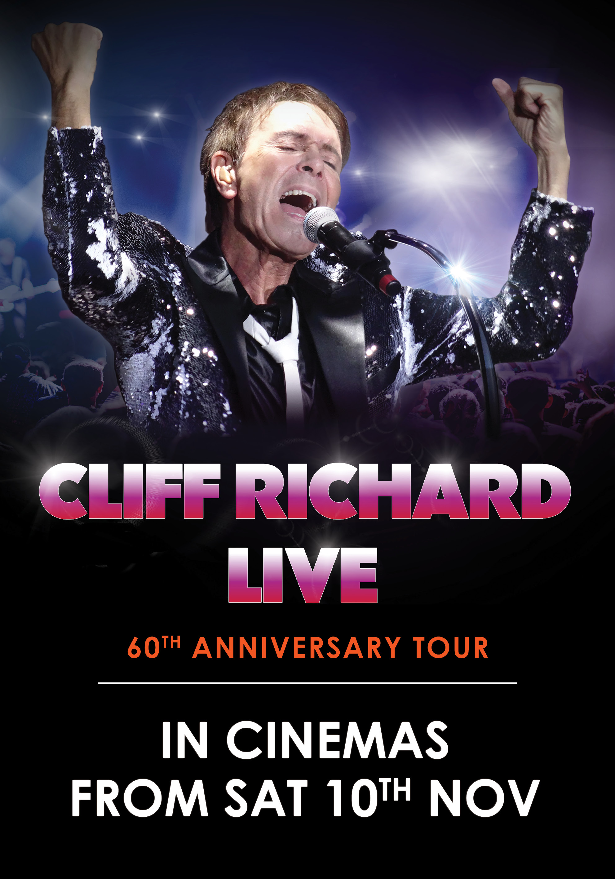 Poster of Cliff Richard Live: Dance Party Night