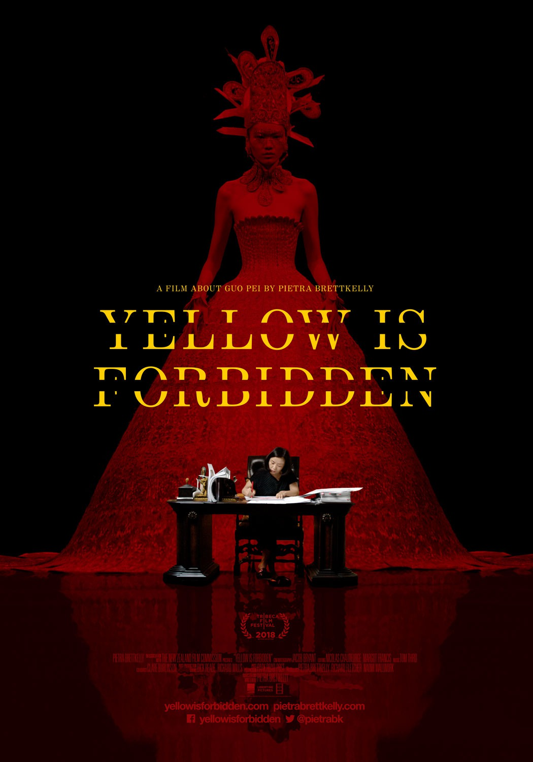 Poster of Yellow is Forbidden