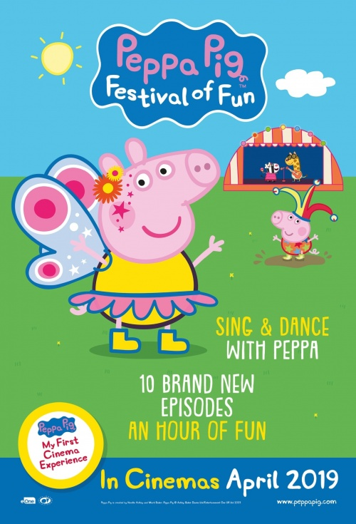 Poster of Peppa Pig: Festival of Fun