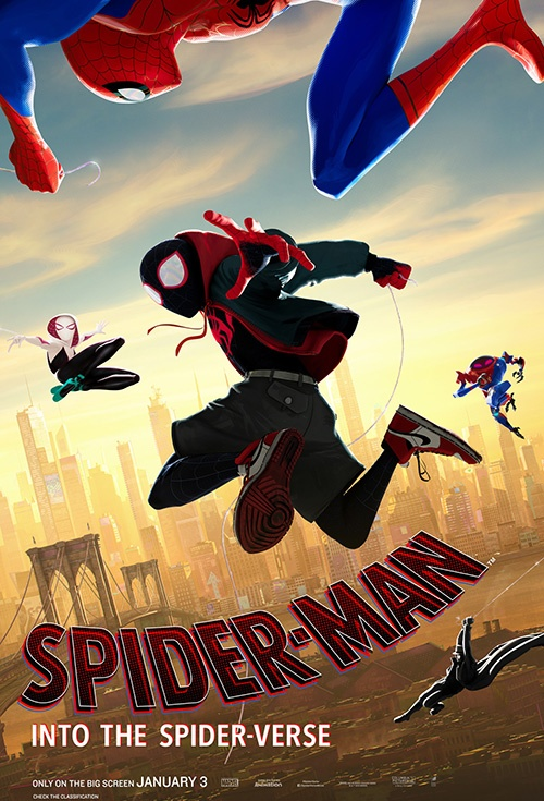 Poster of Spider-Man: Into the Spider-Verse