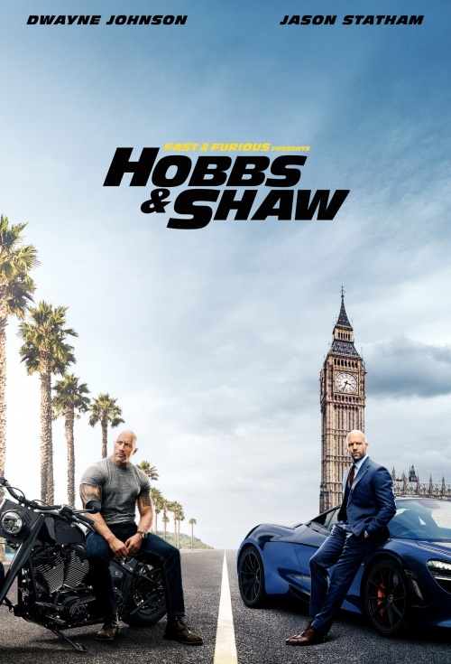 Poster of Fast & Furious: Hobbs and Shaw