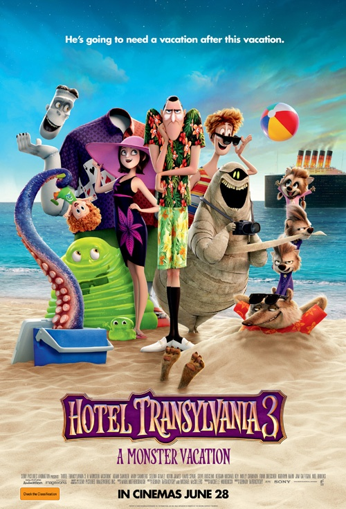Poster of Hotel Transylvania 3: A Monster Vacation
